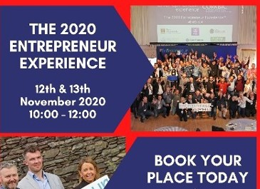The 2020 Entrepreneur Experience is BACK on Nov 12 & 13 - Register Today