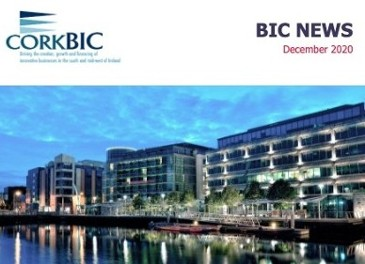BIC December News; Entrepreneur Experience 10 Years; EBAN Cork 2021; Clients etc.